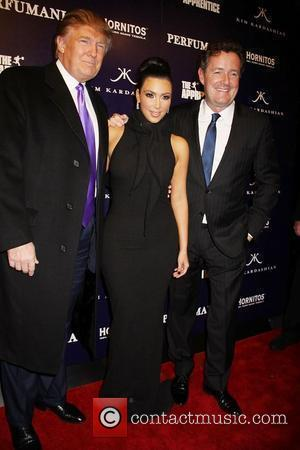 The Apprentice, Kim Kardashian, Donald Trump, Piers Morgan
