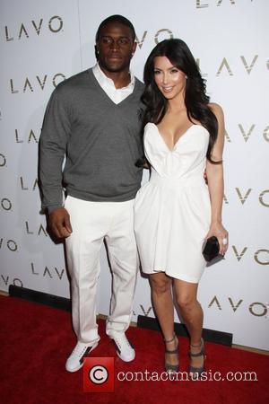 Reggie Bush and Kim Kardashian