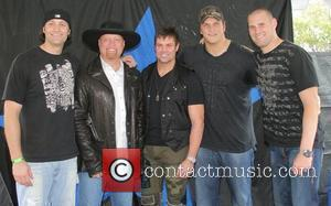 Tyler Ecker, Eddie Montgomery and Troy Gentry