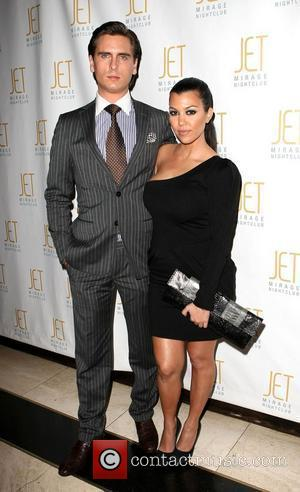 Scott Disick and Kourtney Kardashian Kourtney Kardashian hosts The Dash Fashion Show at Jet nightclub at The Mirage Resort and...