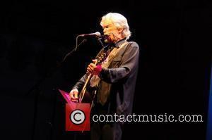 Kris Kristofferson performing at Cadagon Hall. London, England - 28.07.10