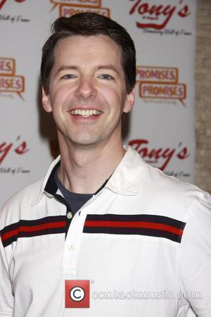 Sean Hayes  The Portrait unveiling and party to honor Kristin Chenoweth and Sean Hayes and the cast of the...