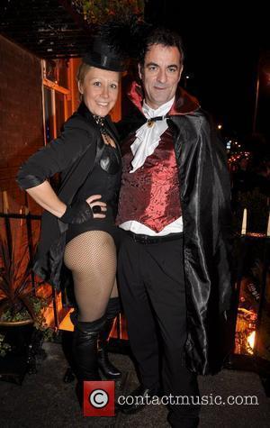 Sonja Mohlich, CJ Rooney Krystle nightclub's Halloween 2010 party  Dublin, Ireland - 30.10.10.