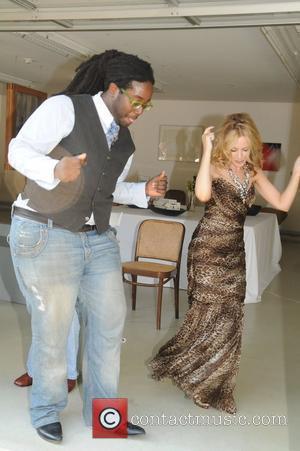 Kylie Minogue and Rufus Wainwright