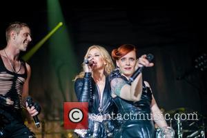 Jake Shears, Kylie Minogue and Scissor Sisters