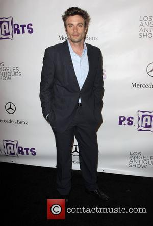 Daniel Goddard  Opening night preview party of the LA Antique Show benefiting P.S ARTS at the Barker Hanger in...
