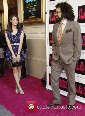 Emmy Rossum, Adam Duritz Attending The Opening Night Of La Cage Aux Folles' At The Longacre Theatre. New York City and Usa - 18.04.10