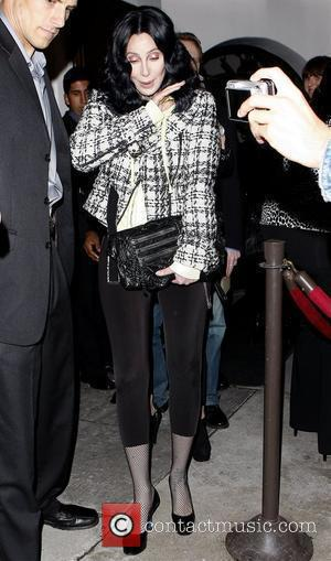 Cher leaving La Vida restaurant in Hollywood after attending a party thrown by Quentin Tarantino Los Angeles, California - 09.02.10