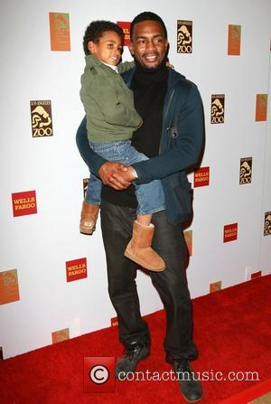 Bill Bellamy and Son Baron Bellamy New 'Elephants Of Asia' habitat unveiling at the L.A. Zoo Los Angeles, California -...