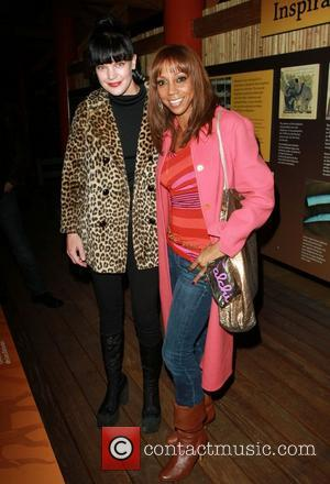 Pauley Perrette and Holly Robinson Peete