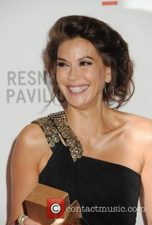 Teri Hatcher Opening Gala and unmasking of the Resnick Pavilion at LACMA (the Los Angeles County Museum of Art) Los...