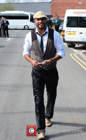 Ricky Whittle 'Ladies Day' at the horse racing meeting at Aintree Liverpool, England - 09.04.10