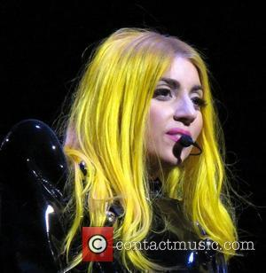 Lady Gaga in concert for the Monster Tour at Wachovia center Philadelphia, Pennsylvania - 14.09.10