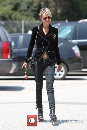 Laeticia Boudou leaving Neil George Salon Los Angeles, California - 19.05.10