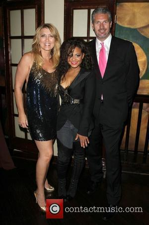 Wendy Burch, Christina Milian and Bruce Taylor  Los Angeles Fashion weekend Spring 2011 Collection - Christina Milian Eyewear -...