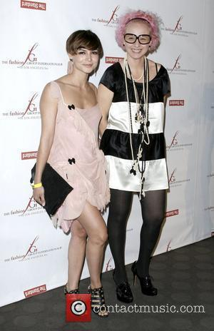 Samaire Armstrong and Designer Nony Tochterman