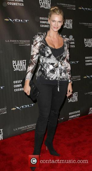 Natasha Henstridge Los Angeles Fashion Week Spring/Summer 2011- WTB Collection - Arrivals Hollywood, California - 17.10.10