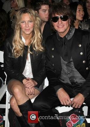Heather Locklear, Richie Sambora Los Angeles Fashion Week Spring/Summer 2011- WTB Collection - front row Hollywood, California - 17.10.10