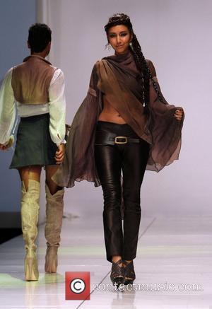 Model and Natasha Henstridge