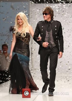 Nikki Lund and Richie Sambora  Los Angeles Fashion Week Spring/Summer 2011- WTB Collection - runway Hollywood, California - 17.10.10