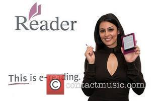 Laila Rouass, presenter of the Channel 4 Book Club, launches the new Reader Touch and Pocket electronic book readers from...