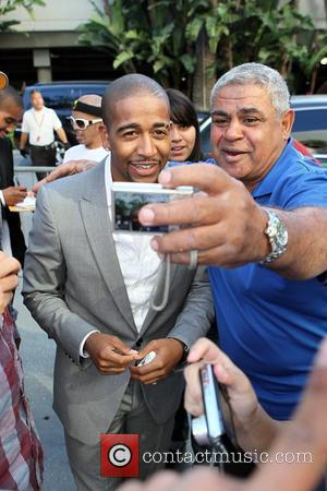 Omarion Celebrity arrivals at the Staples Center for game two of the NBA championship between the LA Lakers and the...