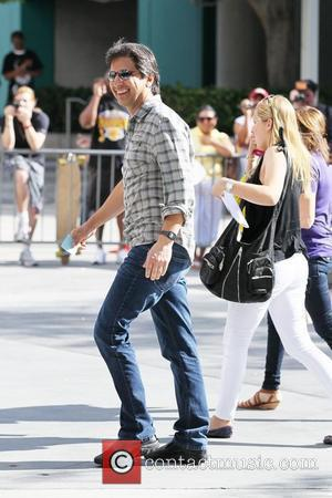 Ray Romano Celebrity arrivals at the Staples Center for game two of the NBA championship between the LA Lakers and...