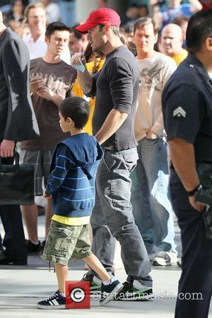 Brian Austin Green and Son Kassius Lijah