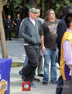 Billy Corgan Celebrities arriving at the Staples Center to watch Los Angeles Lakers vs. Boston Celtics Game 7 of the...