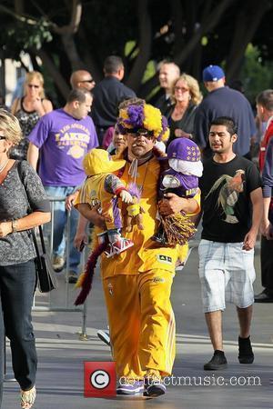 LA Lakers Fans, Staples Centre