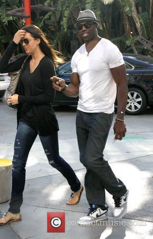 Terrell Owens Celebrities arriving at the Staples Center to watch Los Angeles Lakers vs. Boston Celtics Game 1 of the...