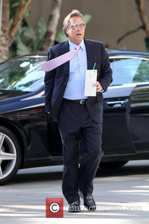 Don Johnson Celebrities arriving at the Staples Center to watch Los Angeles Lakers vs. Boston Celtics Game 1 of the...