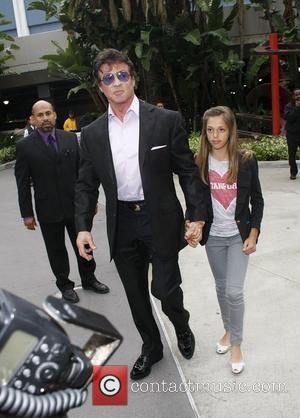 Sylvester Stallone and Sistine Stallone