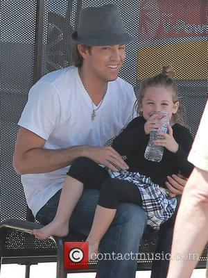Larry Birkhead enjoys day out at the fair with his daughter Dannielynn Birkhead  Los Angeles, California - 13.06.10