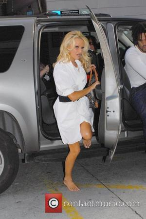 Pamela Anderson, Larry King and Cnn