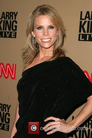 Cheryl Hines and Larry King