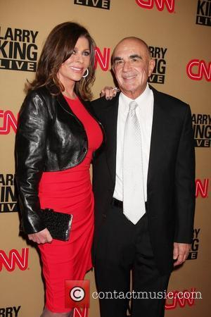 Robert Shapiro & Wife  'Larry King Live' final show wrap party held at Spago - Arrivals Los Angeles, California...