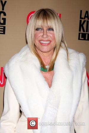 Suzanne Somers  'Larry King Live' final show wrap party held at Spago - Arrivals Los Angeles, California - 16.12.10