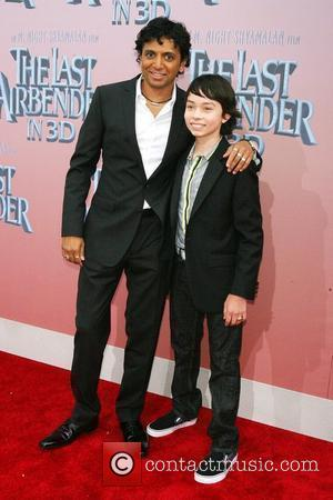 M. Night Shyamalan and Noah Ringer