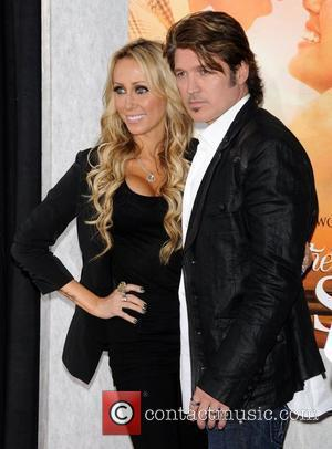 Billy Ray Cyrus and Tish Cyrus
