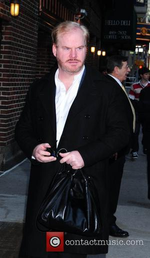 Jim Gaffigan outside the Ed Sullivan Theatre for the 'Late Show With David Letterman' New York City, USA - 08.03.10