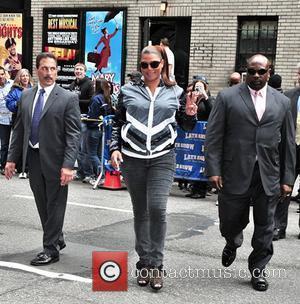 Queen Latifah, David Letterman and Queen