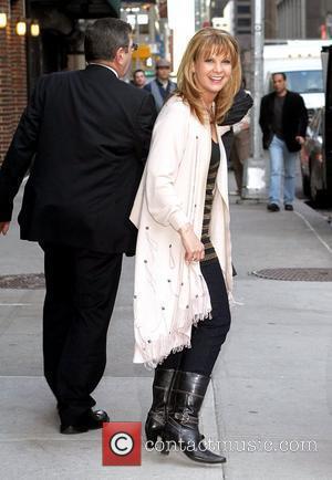 Patty Loveless and David Letterman