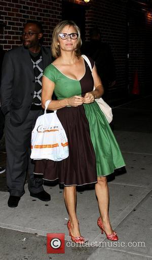 Amy Sedaris outside The Ed Sullivan Theater for 'The Late Show with David Letterman' New York City, USA - 11.10.10