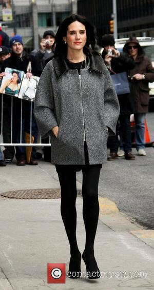 Jennifer Connelly outside The Ed Sullivan Theater for 'The Late Show with David Letterman'.  New York City, USA -...