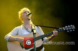 Laura Marling performs on the second day of Latitude Festival in Henham Park, Suffolk Suffolk, England - 16.07.10