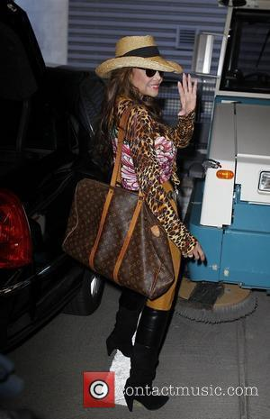 La Toya Jackson arriving at JFK airport New York City, USA - 13.10.10