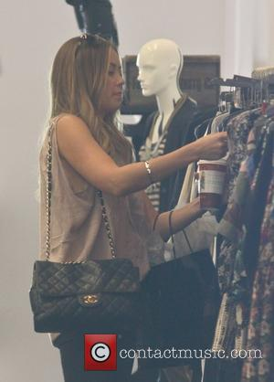 Lauren Conrad is seen shopping while filming her new reality show in West Hollywood. Los Angeles, California - 10.12.10