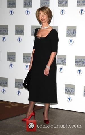 Helen Worth The Laurence Olivier Awards at The Grosvenor House Hotel London, England - 21.03.10