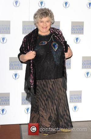 Miriam Margoyles and Laurence Olivier